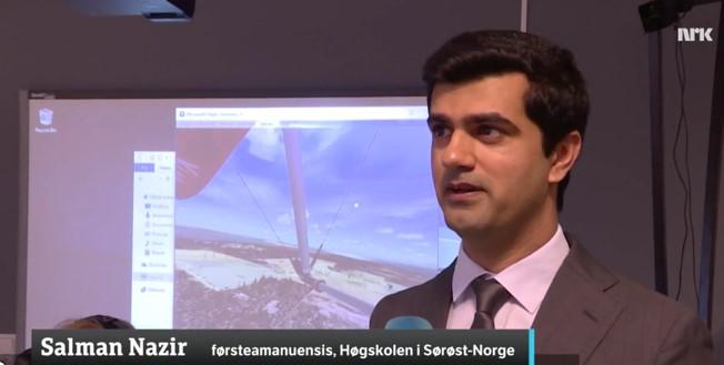 Salman Nazir on NRK