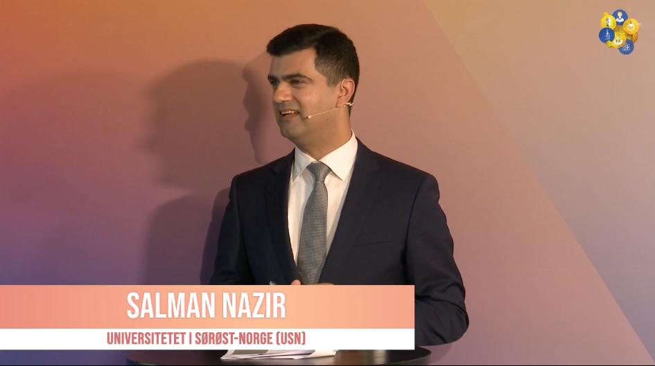 Prof.Nazir presenting